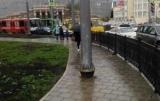 На тротуарах заборонили встановлювати рекламні конструкції та інші тимчасові споруди
